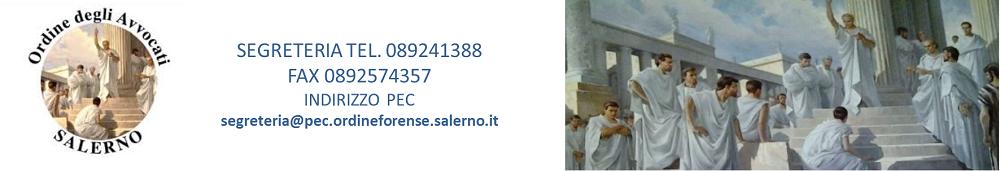 Consiglio dell'Ordine degli Avvocati di Salerno